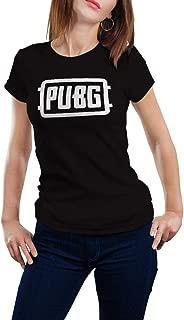 Black T-shirt Pubg design -Women