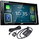JVC KW-V830BT compatible with Android Auto / Apple CarPlay CD/DVD...