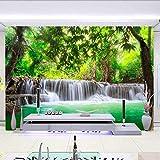 Tapeten Wandbilder,Hd-Wald River Wasserfall