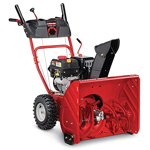 Troy-Bilt 24 in. Two-Stage 208cc Electric Start Self Propelled Gas Snow Blower Storm 2410 Model