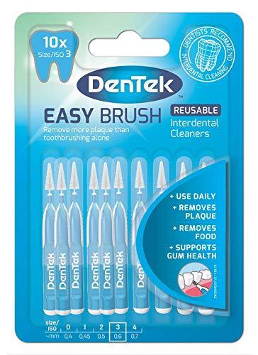 DenTek Easy Brush Iso 3 Interdentalbürsten, 0,60 mm, 10 Stück