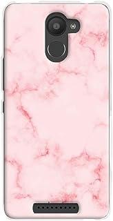 comprar comparacion Funnytech® Funda Silicona para BQ Aquaris U Plus Gel Silicona Flexible Textura marmol Rosa