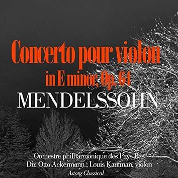 Mendelssohn : Concerto en mi mineur pour violon et orchestre, Op. 64