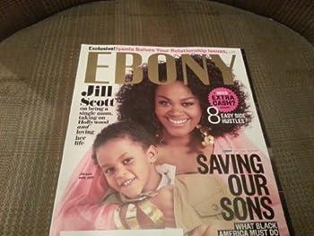 Ebony Magazine May 2013 Jill Scott & Son Jett Cover