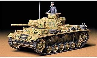 Tamiya Models Pzkpfw III Ausf L Tank Model Kit