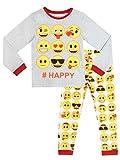 Emoji Mädchen Schlafanzug 122cm