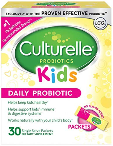 Culturelle Kids Packets Daily Probiotic Supplement | Helps...