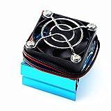 AKDSteel - Cubierta para radiador de motor con ventilador de refrigeración para H-SP/H-PI Him-OTO Red-Cat 540 3650 3660 3670