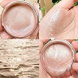 Pretty Count Gel De Sombra De Ojos Efecto Brillante De Larga DuracióN Aligeramiento Shimmer Eyeshadow Highlighter Makeup