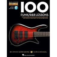 Bass Lesson Goldmine: 100 Funk/R&B Lessons (Book/Online Audio). Partituras, Downloads para Guitarra Bajo