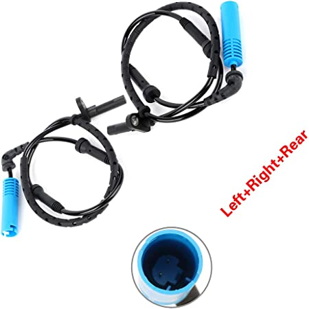 ANPART ABS Wheel Speed Sensor Left/&Right/&Rear Fits for ALS1275 2004-2007 BMW 525i 2008-2010 BMW 528i 2008 BMW 528xi
