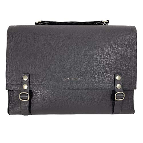 Orciani D47 borsa donna grey leather bag women [ONE SIZE]