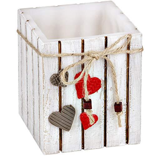holzalbum Baumstamm Holz Teelichthalter aus Wachs Windlicht Hochzeitskerze Traukerze Kerze