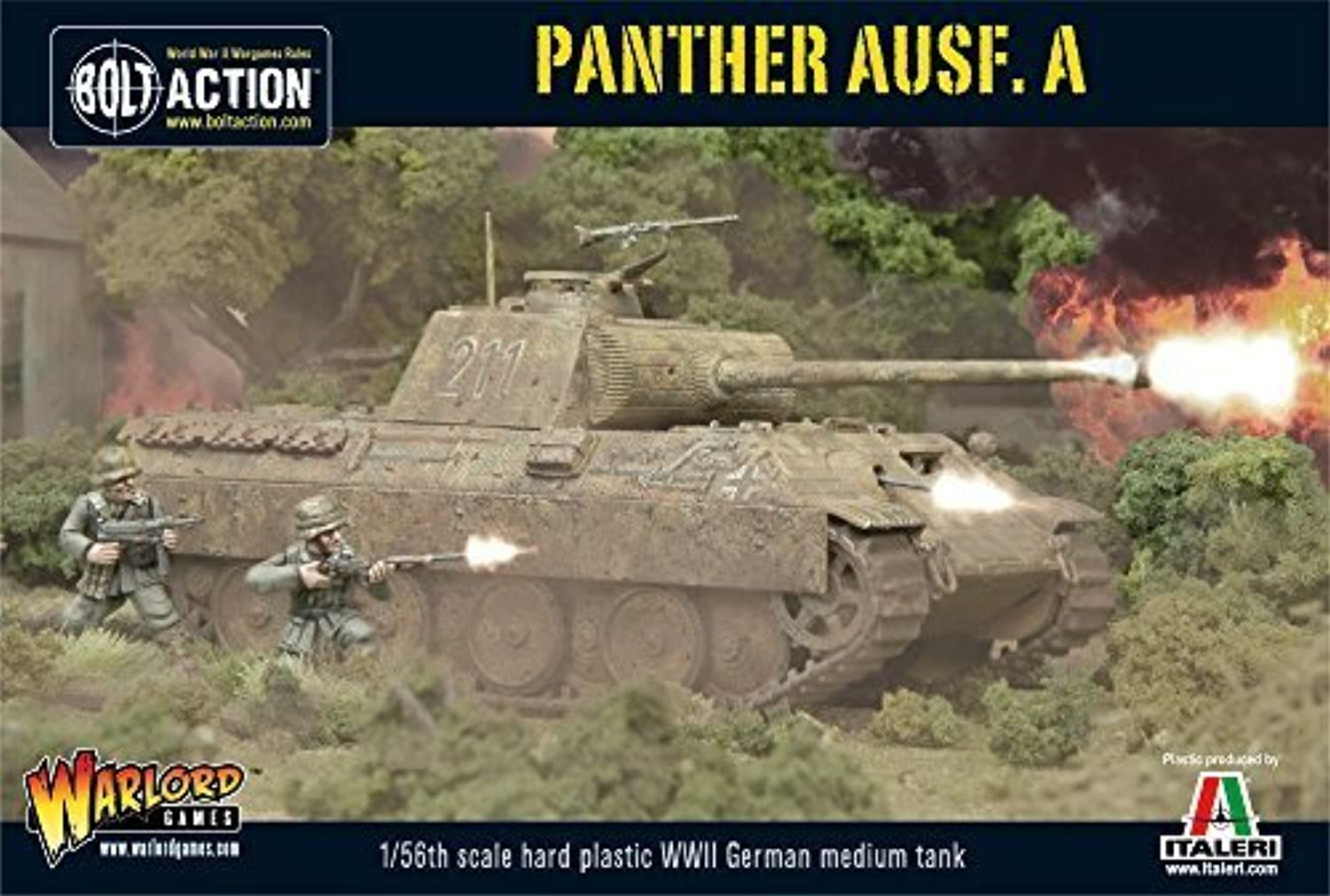 WWII German Sd.Kfz 251 7C AUSF A Panther by Warlord Games