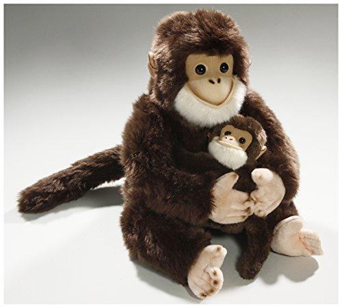 Carl Dick Peluche - Chimpancé con Bebé (25cm) [Juguete] 2795