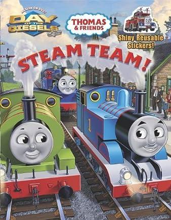 Steam Team! (Thomas & Friends) (Reusable Sticker Book) by Rev. W. Awdry (2011-08-09)