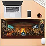ZDVHM Estesa Gaming Mouse Pad Marvel The Avengers Grande Tastiera Tappetino Mouse Impermeabile Antiscivolo Gioco Mousepad 900x400x3mm for Office Home PC Desktop Tabella Mouse Pad (Color : I)