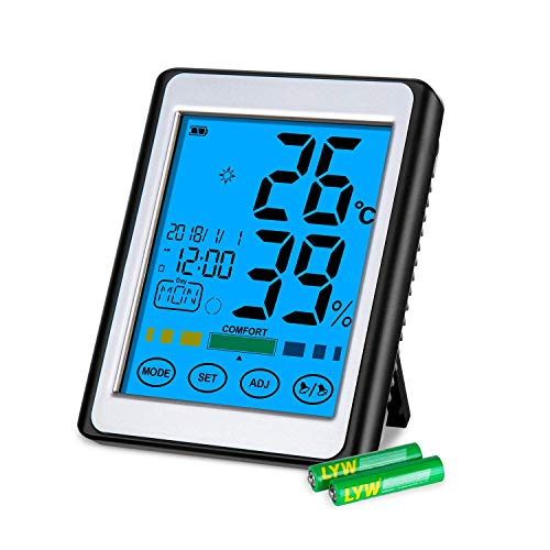 CISHANJIA Room Thermometer, Professional Digital Thermometer for sale  Delivered anywhere in UK