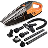 Elechomes 5-in-1 Handheld Vacuum Cordless & Stick Vacuum Cleaner, 7Kpa High Power Suction & Fast Charge Technology, Portable Hand Vacuum with Washable HEPA Filter for Home Car Pet Hair Cleaning