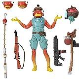 Fortnite FNT0524 Legendary Series, Paquete de 15.5 cm Figura de acción de palillo de Pescado, Incluye Herramienta de Cosecha, 3 Armas, 1 Espalda...