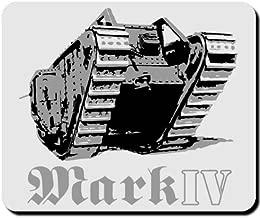 Militar Ejército Combate WK Británico Inglaterra tanque Mark IV–Ratón Mousepad Ordenador Laptop PC # 16599