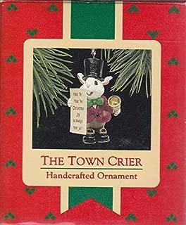 The Town Crier 1988 Hallmark Ornament QX4734
