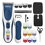 Wahl Hair Clippers for Men, Colour Pro Cordless Combi Kit, Head Shaver, Men's Hair Clippers with Bea...