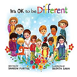 It's ok to be different book for kids