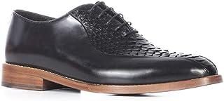 Reyt Erkek Klasik Ayakkabı Siyah Deri-Siyah Piton