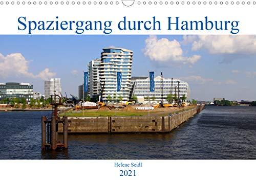 Spaziergang durch Hamburg (Wandkalender 2021 DIN A3 quer)