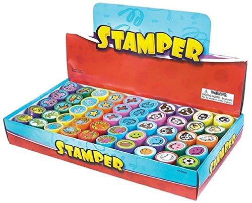 Rhode Island Novelty 1.40' Plastic Stampers (50Pcs/Box)