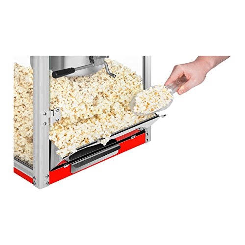 Royal Catering RCPR-1325 Popcorn Maker Professional Popcorn Machine (1325 W, 8 oz, Approx. 3 kg/h, Teflon Coated Kettle…