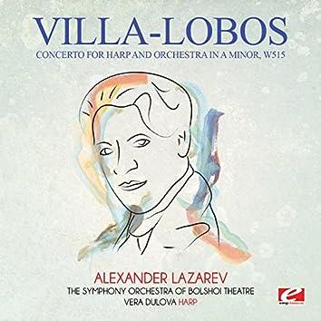 Villa-Lobos: Concerto for Harp and Orchestra in A Minor, W515 (Digitally Remastered)