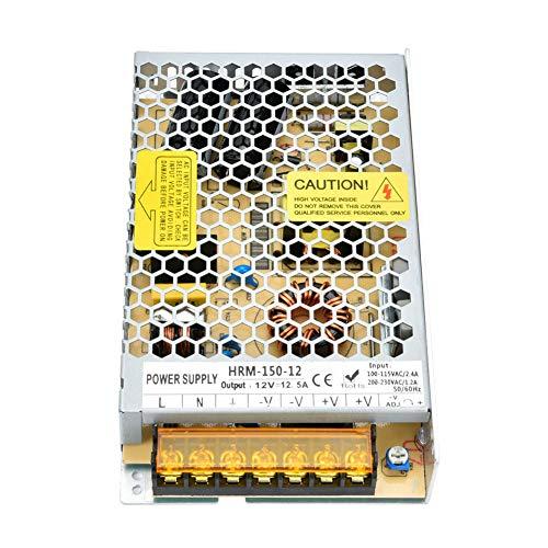 Weikeya Bloc d'alimentation de commutation ultra-fin, bloc d'alimentation à bande lumineuse, tout transformateur en cuivre, bloc d'alimentation à basse tension avec