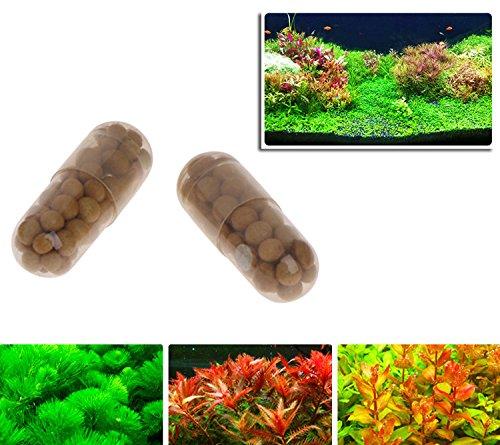 KOFUN, fertilizzante per piante acquatiche, radici acquatiche, condensato, per acquari, 40 pezzi