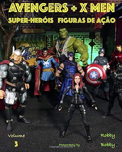 AVENGERS + X MEN: super-heróis (FIGURAS DE AÇÃO)