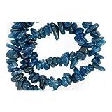 Lungo Fili 195+ Blu Ottanio Apatite 5-8mm Chips Tagliato a Mano Perline GS3168 (Charming Beads)
