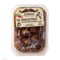 Il Grilliatore Onions in Balsamic Vinegar, 8 oz