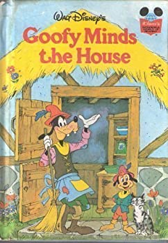 Goofy Minds the House - Book  of the Disney's Wonderful World of Reading