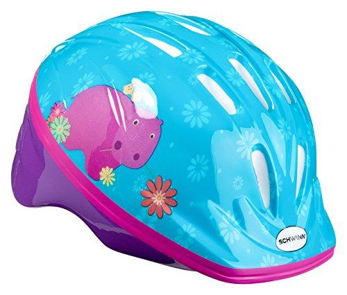 Schwinn Kids Bike Helmet Classic Design, Toddler and Infant Sizes, Toddler, Happy Hippo