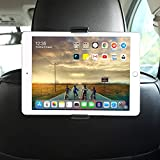 Soporte Tablet Coche, GHB Soporte Reposacabezas Coche para iPad Air Mini Pro 2019 - Compatible con Smartphones y tabletas de 4,7' a 11'