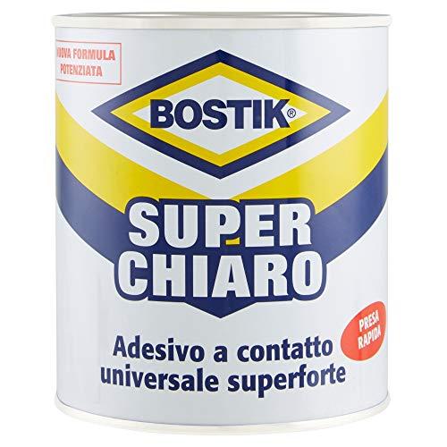 BOSTIK Superchiaro adesivo a contatto universale super forte e super rapido latta 750ml Giallo