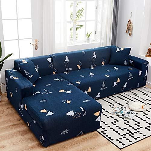 Cubre Sofá Moderno Universal Cubierta 4 asientos, fundas elásticas para sofá para sala de estar, esquina seccional en forma de L, fundas para sofá Chaise Longue, fundas para sofá-O 235-300CM