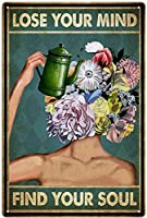 RCY-T Lose Your Mind Find メタルサインs Personalized メタルサイン Love Wall Tattoos Sexy Vintage Look ブリキサイン Bar Cafe-Sign2-12x8 inch