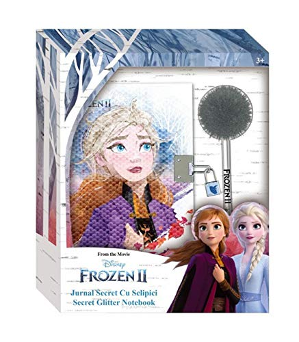 Frozen 2 Diario Secreto con Boli Pom Pom