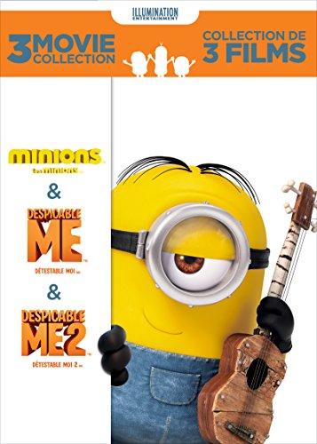 Minions / Despicable Me / Despicable Me 2 (3 Movie Collection)