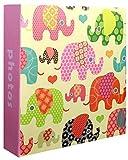 Innova Cute Animals, Album Foto, 200 Bolsillos, 10 x15 cm, Modelos Surtidos, Multicolor