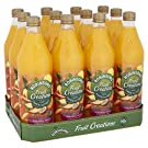 Robinsons Fruit Creations, Real Fruit Squash, Low Calorie, Exotic Pineapple, Mango and Passion Fruit, Pack of 12 x 1 Litre Bottles