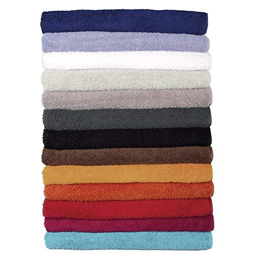 CelinaTex Bari Saunatuch XXL Doppelpack 90 x 220 cm weiß Baumwolle Frottee Handtuch Badetuch Saunahandtuch