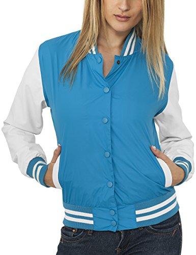 Urban Classics Ladies Light College Jacket Chaqueta para Mujer